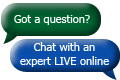 Chat with an expert now
