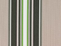 Multi Stripe polyester cover for 2.5m x 2m awning includes valance