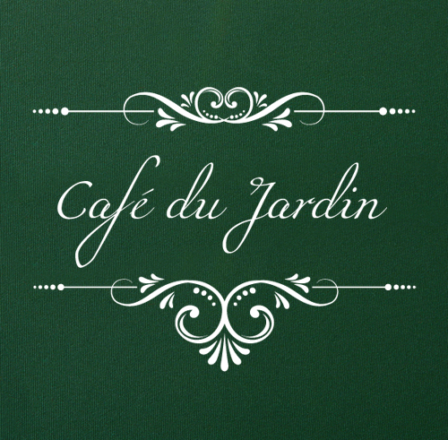 Cafe Du Jardin Plain Green