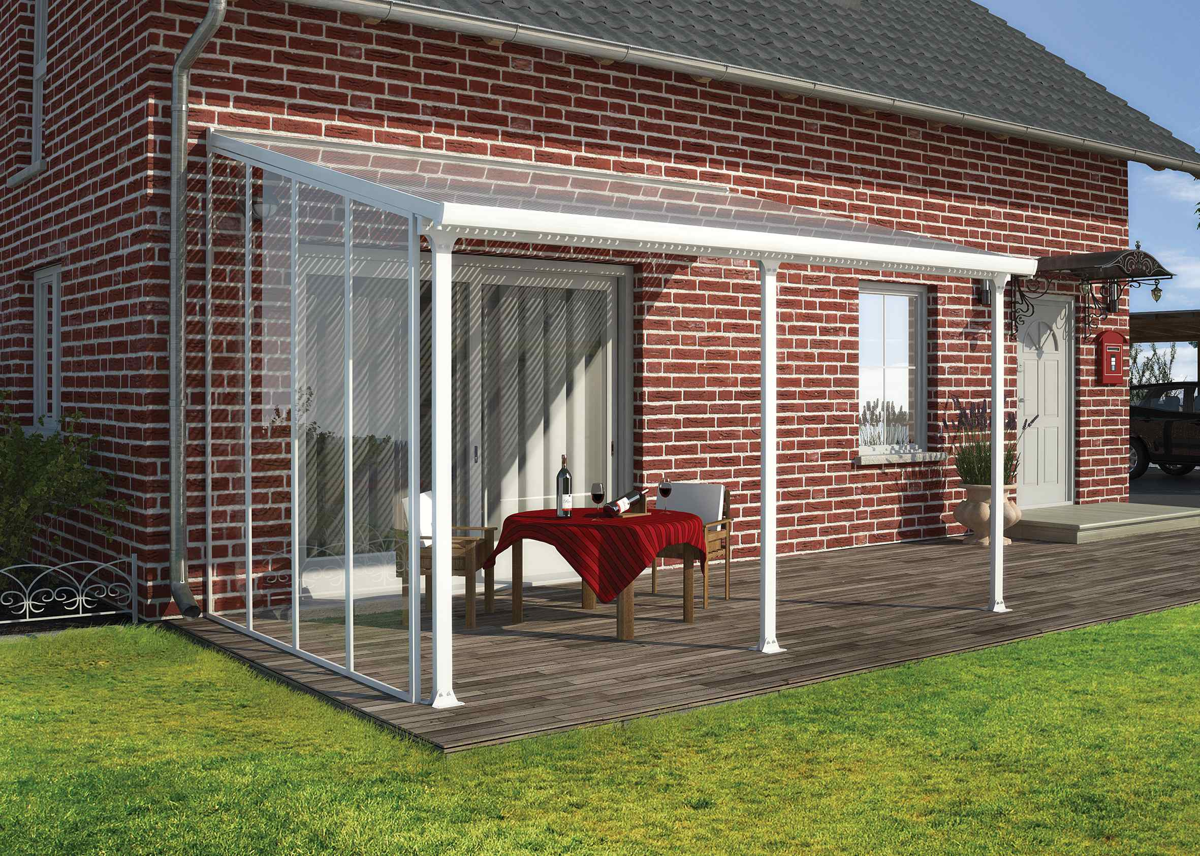 Palram Feria Patio Cover 3m Sidewall 163 674 99