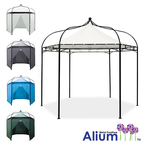 Harlington Deluxe Steel Frame Gazebo with Roof Canopy £109.99
