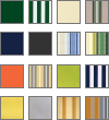 Bespoke Awning swatches