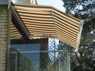 Double Pitch Awnings