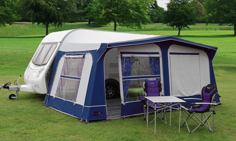 11 925 Tuscany Caravan Awning In Blue 163 439 00