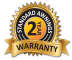 Warranty Badge 2 years!