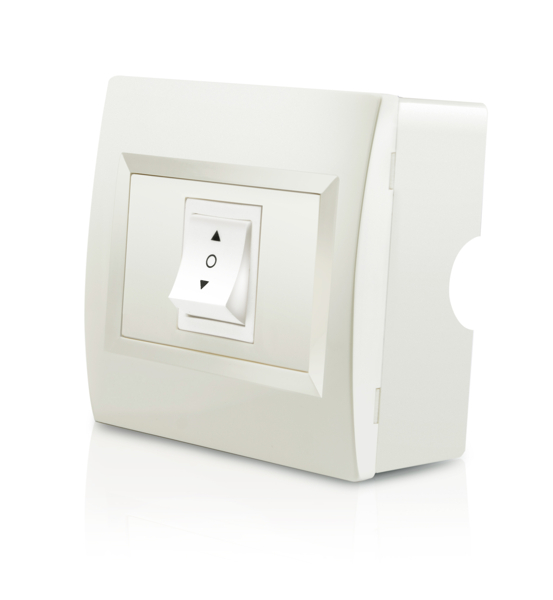 Cream Indoor Wall Switch for Electric Awnings