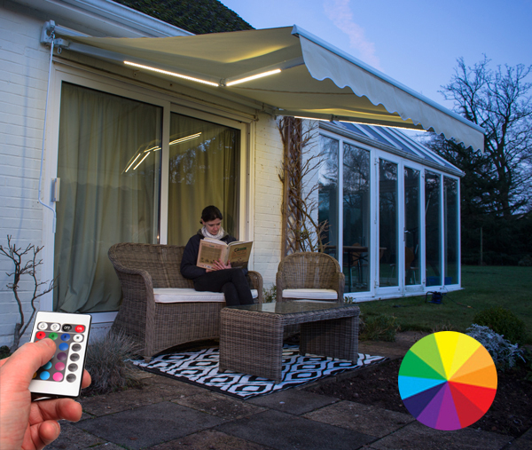 Awning Colour Changing LED Light Kit - for 2m Projection Awnings