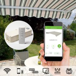 Smart WiFi Control Kit for Electric Awnings (Android smartphones)