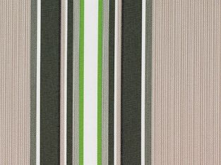 Multi Stripe polyester cover for 1.5m x 1.0m awning includes valance