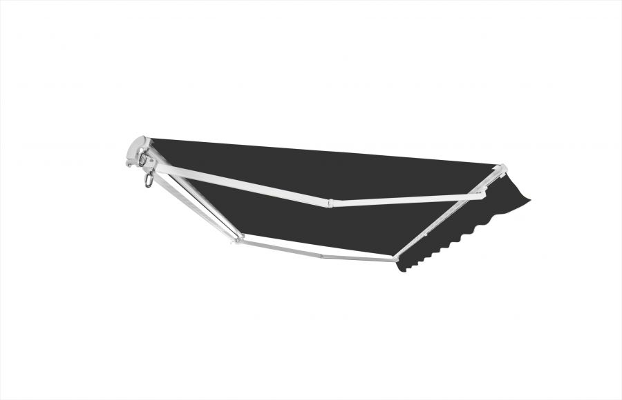 1.5m Standard Manual Awning, Charcoal
