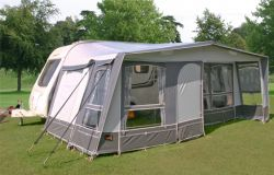 10/900 Atlas Caravan Awning in Grey