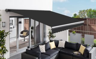 3.5m Full Cassette Manual Charcoal Awning (Charcoal Cassette)