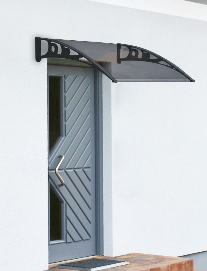 100 x 80cm Black Door Canopy - Lacewing™