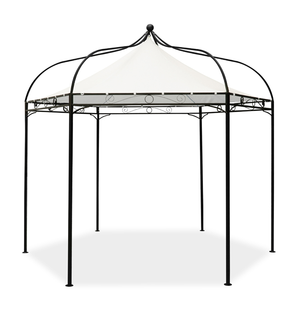 Harlington Deluxe Steel Frame Gazebo With Roof Canopy £89.99