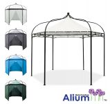Harlington Deluxe Steel Frame Gazebo with Roof Canopy
