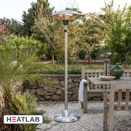 2.1kW IP44 Free Standing Halogen Patio Heater by Firefly™