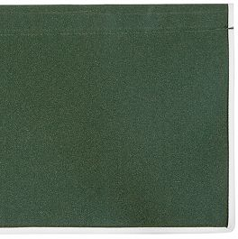 4.5m Plain Green Valance - Straight