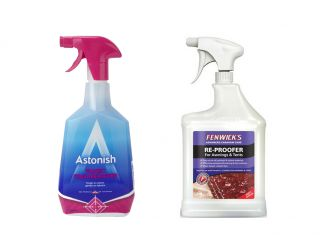 Awning, Marquee and Shade Sail Cleaning Care Set