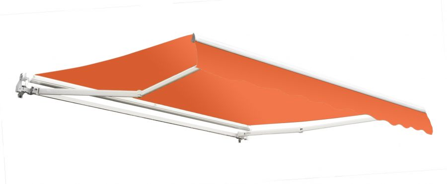 2.0m Budget Manual Awning, Terracotta