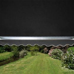 3.0m Full Cassette Electric Awning, Charcoal