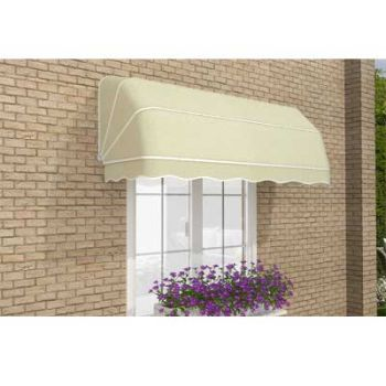 1.5m Dutch Canopy Ivory Awning
