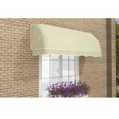 2.0m Dutch Canopy Ivory Awning