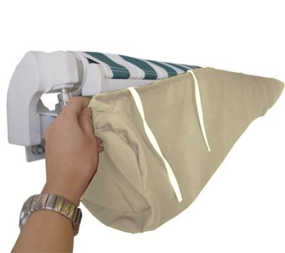 2.5m Ivory Protective Awning Rain Cover / Storage Bag