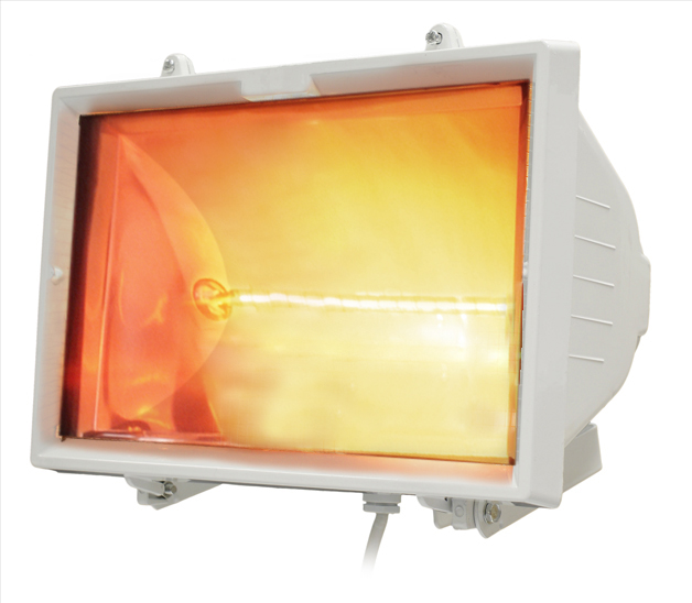 1.2kWHalogen Bulb Electric Infrared Marquee Heater