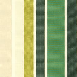 Green Stripe Acrylic Cover for 5m x 3m Awning includes valance