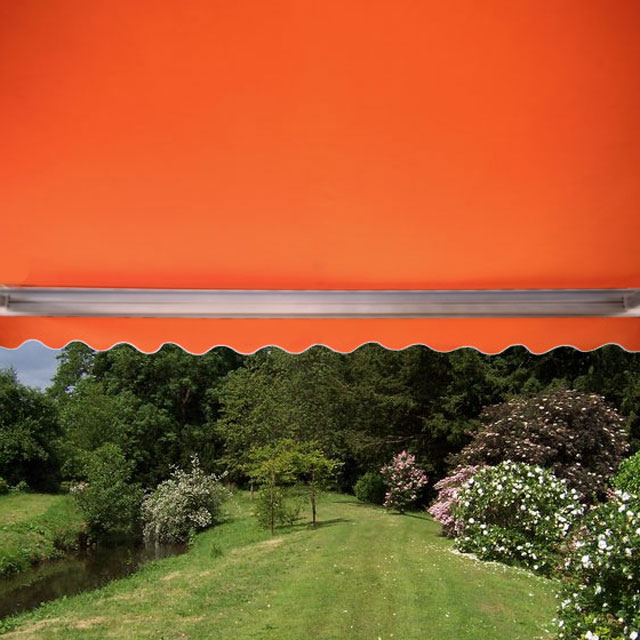 3.0m Full Cassette Manual Awning, Terracotta