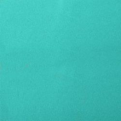 Turquoise polyester cover for 5.0m x 3m awning includes valance