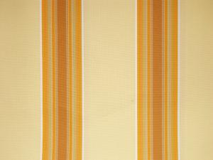 Yellow Stripe polyester cover for 2.5m x 2m awning includes valance